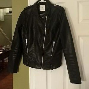 Women's  Mango faux leather  moto jacket